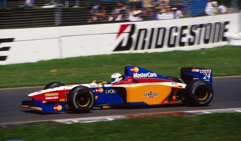Mastercard Lola F1 Teams Background 6
