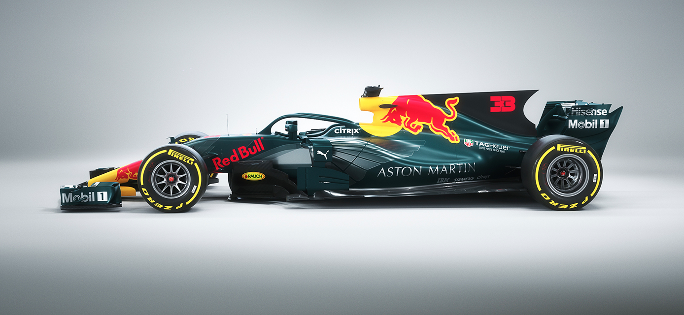 This Aston Martin Red Bull Livery Looks Good Enough To Be The Real Thing Wtf1