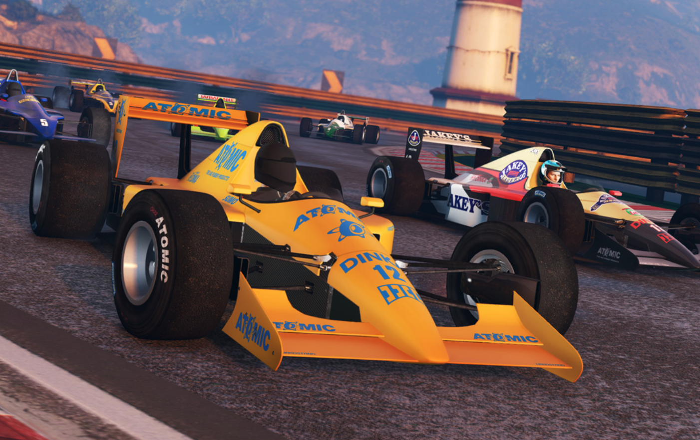 There Are Now A Couple Of 80s Inspired F1 Cars In Grand Theft Auto V Wtf1